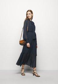 MICHAEL Michael Kors - PERFECTION DOTS DRESS - Maxi dress - dark blue - 1