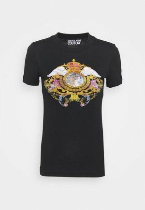 TEE - Print T-shirt - black