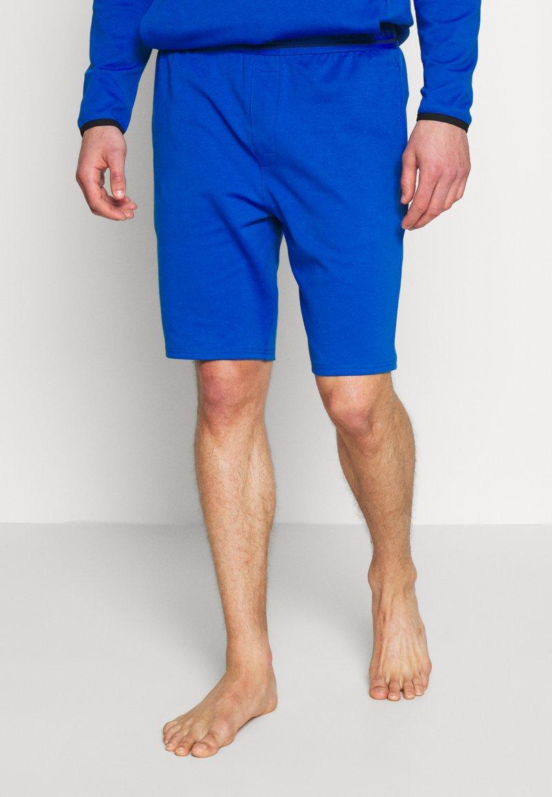 Calvin Klein Underwear - SLEEP SHORT - Pantalón de pijama - blue