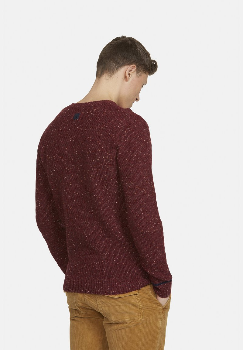 Colours & Sons Strickpullover - rot YroNLa