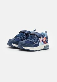 Geox - Disney Frozen Elsa Anna GEOX JUNIOR SPACECLUB GIRL - Trainers - navy/sky - 1