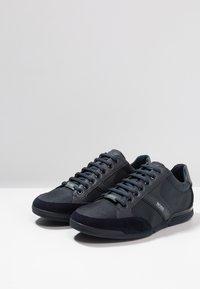 BOSS - SATURN LOWP MX - Trainers - dark blue - 2