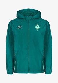 Umbro - SV WERDER BREMEN  - Club wear - fanfare / ice green - 0
