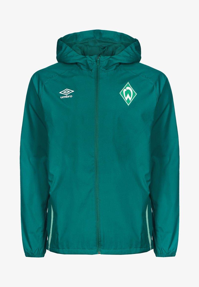 Umbro - SV WERDER BREMEN  - Club wear - fanfare / ice green