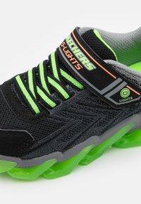 Skechers - MEGA SURGE - Trainers - black/lime/orange - 5