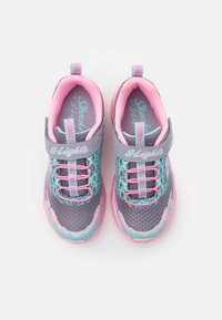 Skechers - TWISTY BRIGHTS - Tenisky - gray/pink - 2