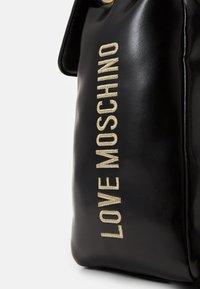 Love Moschino - BORSA - Rucksack - black - 4