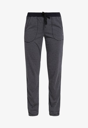 Pyjama bottoms - dark blue/white