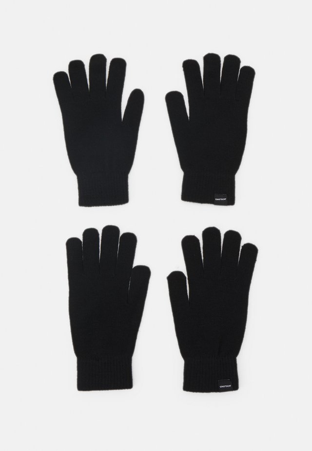 JACSONNY GLOVES 2 PACK - Handschoenen - black
