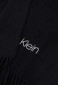 Calvin Klein - SCARF UNISEX - Scarf - black - 2