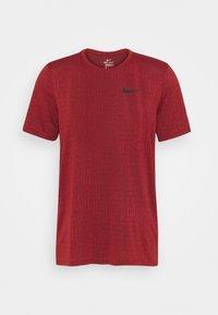 Nike Performance - T-shirts basic - dark cayenne/black - 0