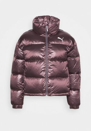 SHINE JACKET - Down jacket - foxglove