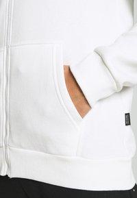 Only & Sons - ONSCERES LIFE ZIP HOODIE - Zip-up sweatshirt - bright white - 4