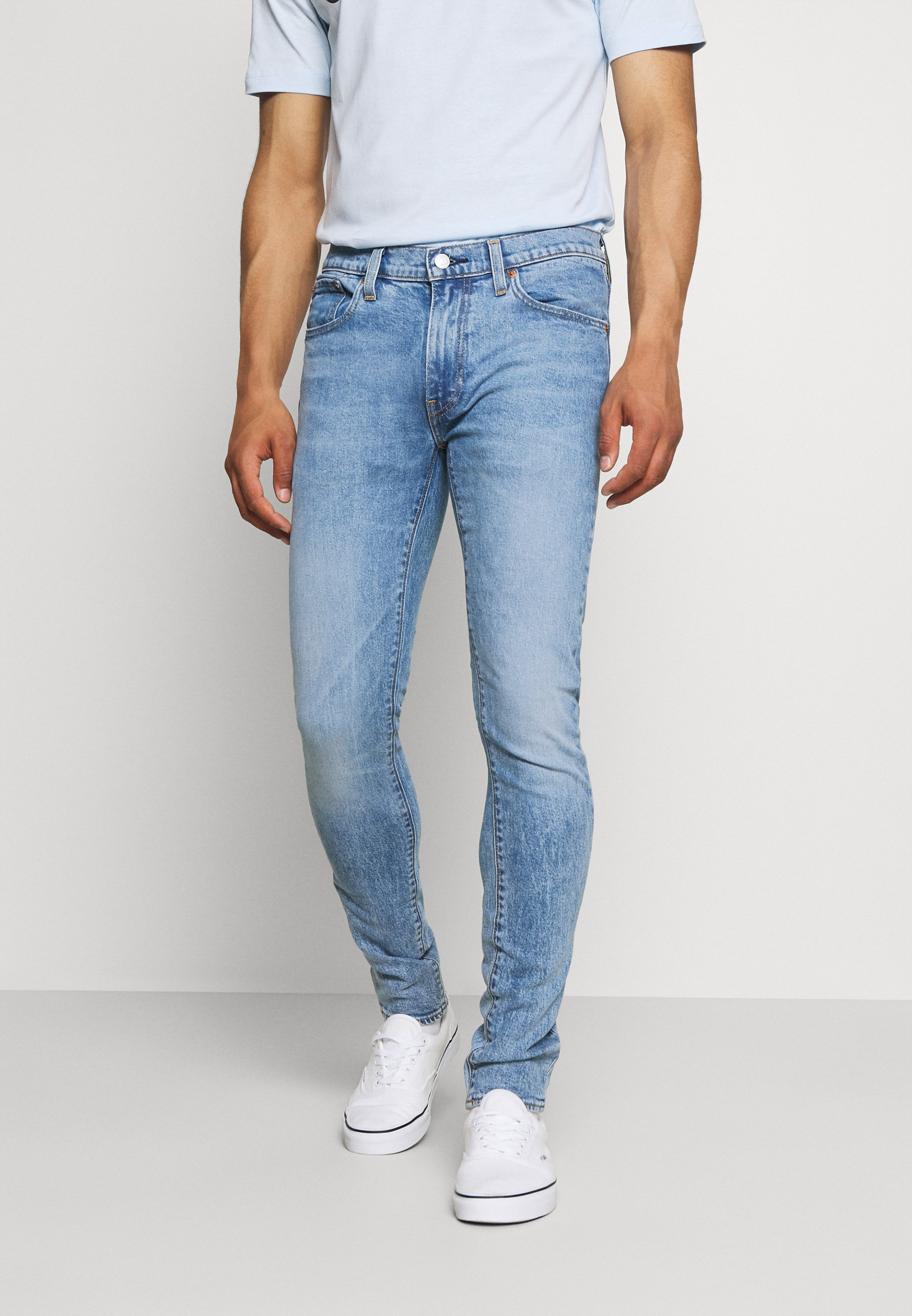 Herren SKINNY - Jeans Skinny Fit - corfu blue key