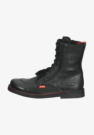 Lace-up ankle boots - noir sem noir