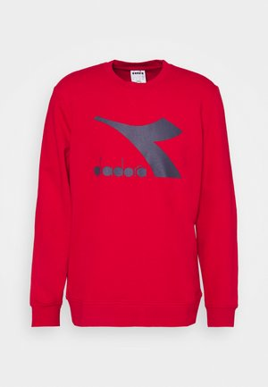 CREW LOGO CHROMIA - Sweatshirts - tango red