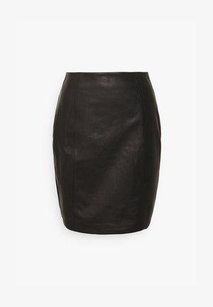 DELIA SKIRT - Falda de tubo - schwarz