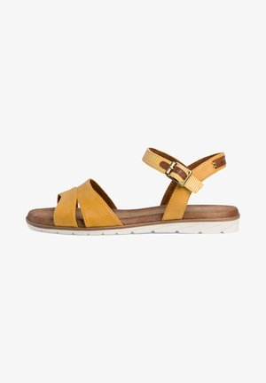 Sandals - saffron comb