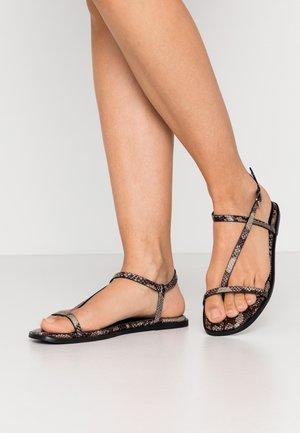 T-bar sandals - natural