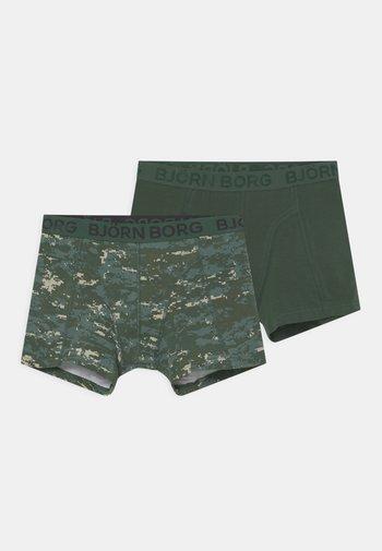 DIGITAL WOODLAND SAMMY 2 PACK - Pants - duck green