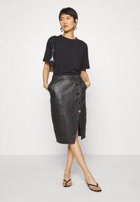 DAY Birger et Mikkelsen - DERI - Pencil skirt - black - 1