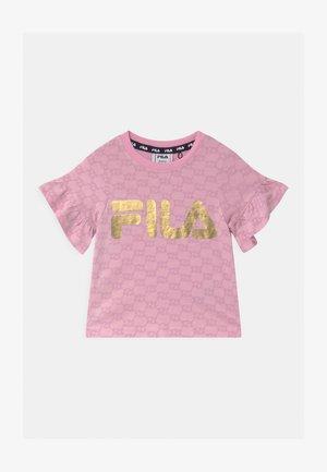 AURORA LOGO  - T-shirt imprimé - lilac