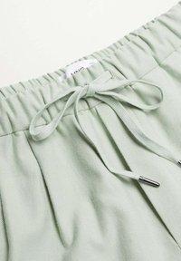 Mango - Trousers - verde agua - 6