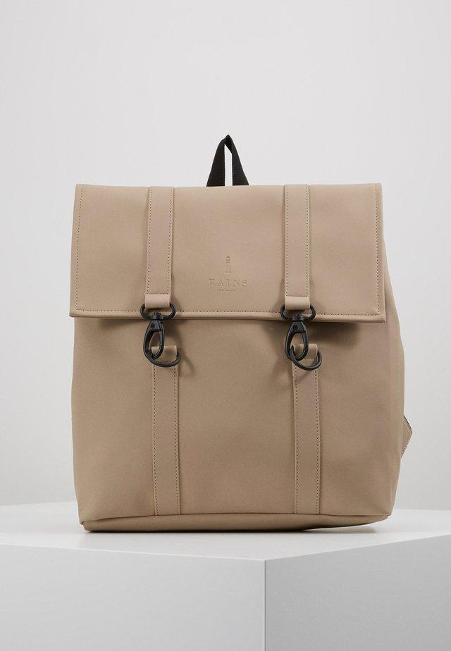 BAG MINI - Rucksack - beige