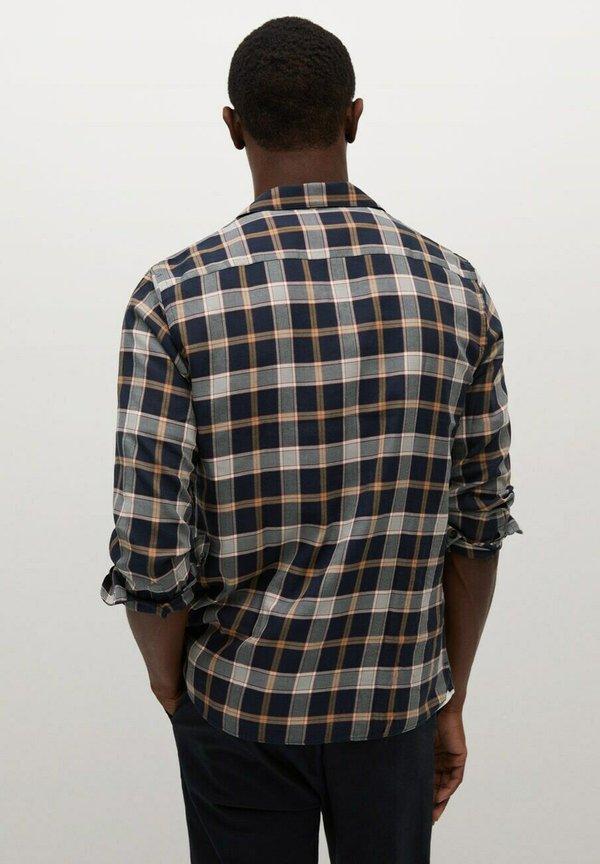 Mango DADA - Koszula - dunkles marineblau/granatowy Odzież Męska WHRC