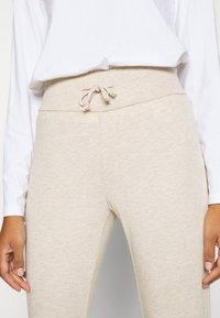 Even&Odd - High Waist Lightweight Slim Jogger - Tracksuit bottoms - beige - 7