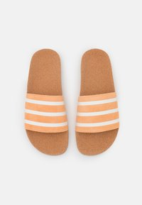 adidas Originals - ADILETTE - Mules - acid orange/core white - 6