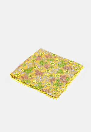 FLORAL NECKERCHIEF - Foulard - brown