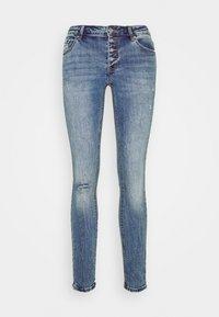 Vero Moda - VMLYDIA SKINNY BUTTON  - Skinny džíny - medium blue denim - 4