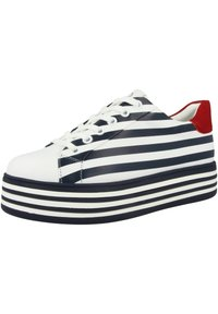 Gerry Weber - Sneakers laag - white blue - 1