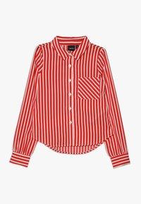 LMTD - NLFKAYA - Button-down blouse - poppy red/white - 0