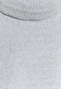 Vero Moda - VMDOFFY COWLNECK - Jumper - light grey melange - 2