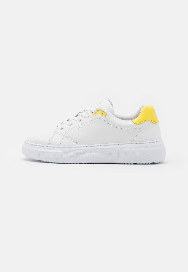 SEACOAST  - Baskets basses - white/yellow