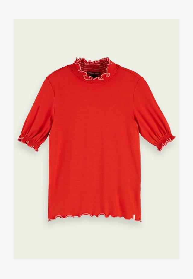 Print T-shirt - flame