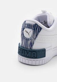 Puma - CALI SPORT FIREWORKS AC - Trainers - white/elektro blue - 5