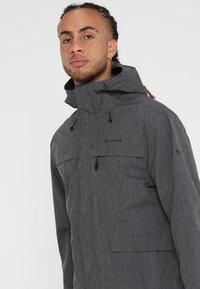Vaude - ROSEMOOR JACKET - Waterproof jacket - iron - 3