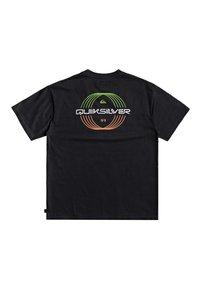 Quiksilver - NEON BALLROOM - Print T-shirt - black - 1