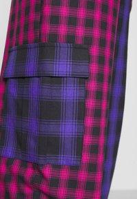 The Ragged Priest - CRUX PANT - Pantalones - pink/purple/black - 6