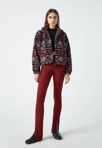 PULL&BEAR - Fleece jacket - black - 1
