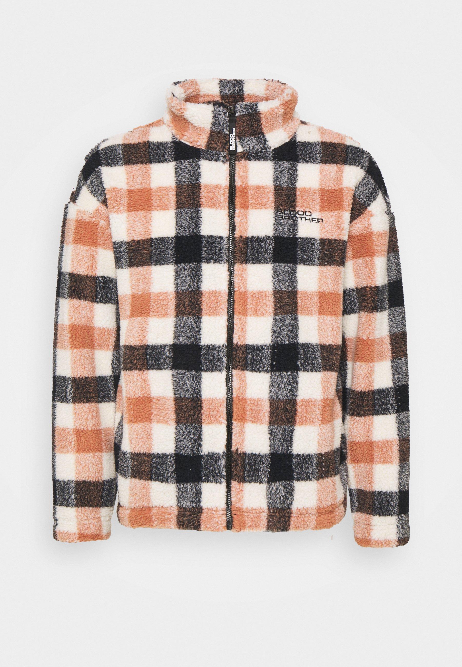 Men SANOMA CHECK ZIP THRU UNISEX - Summer jacket