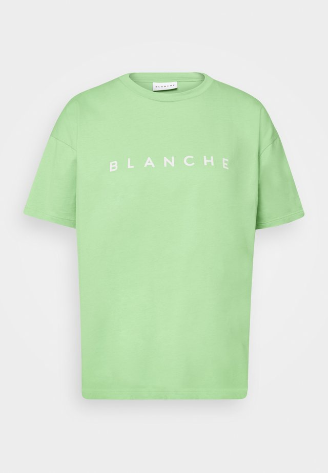 MAIN CONTRAST - T-shirts print - jade lime