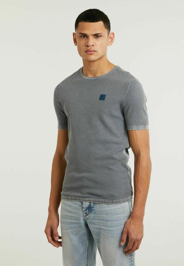 BASAL TEE - T-shirt print - light blue