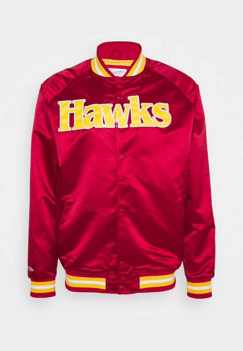 Mitchell & Ness - NBA ATLANTA HAWKS LIGHTWEIGHT JACKET - Squadra - red