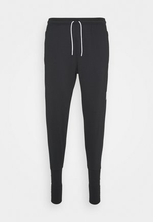 PANT SOCK CUFF - Tracksuit bottoms - black/white/white