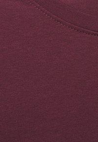 Anna Field MAMA - 2 PACK - Long sleeved top - dark green/bordeaux - 6