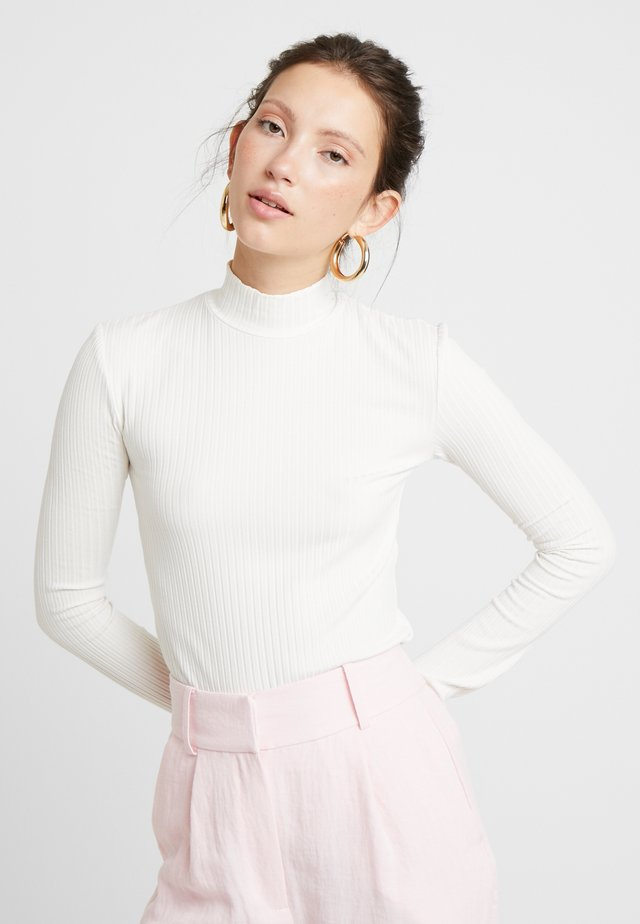 MANON LONGSLEEVE - Long sleeved top - offwhite